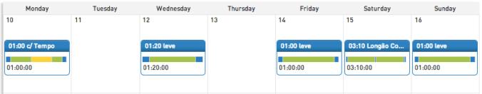 Agenda da semana